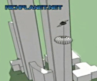 second plane striking wtc