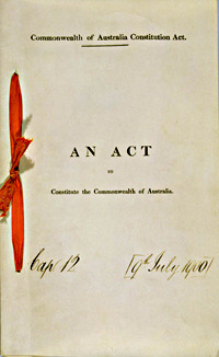 Cover of Australian Constitution