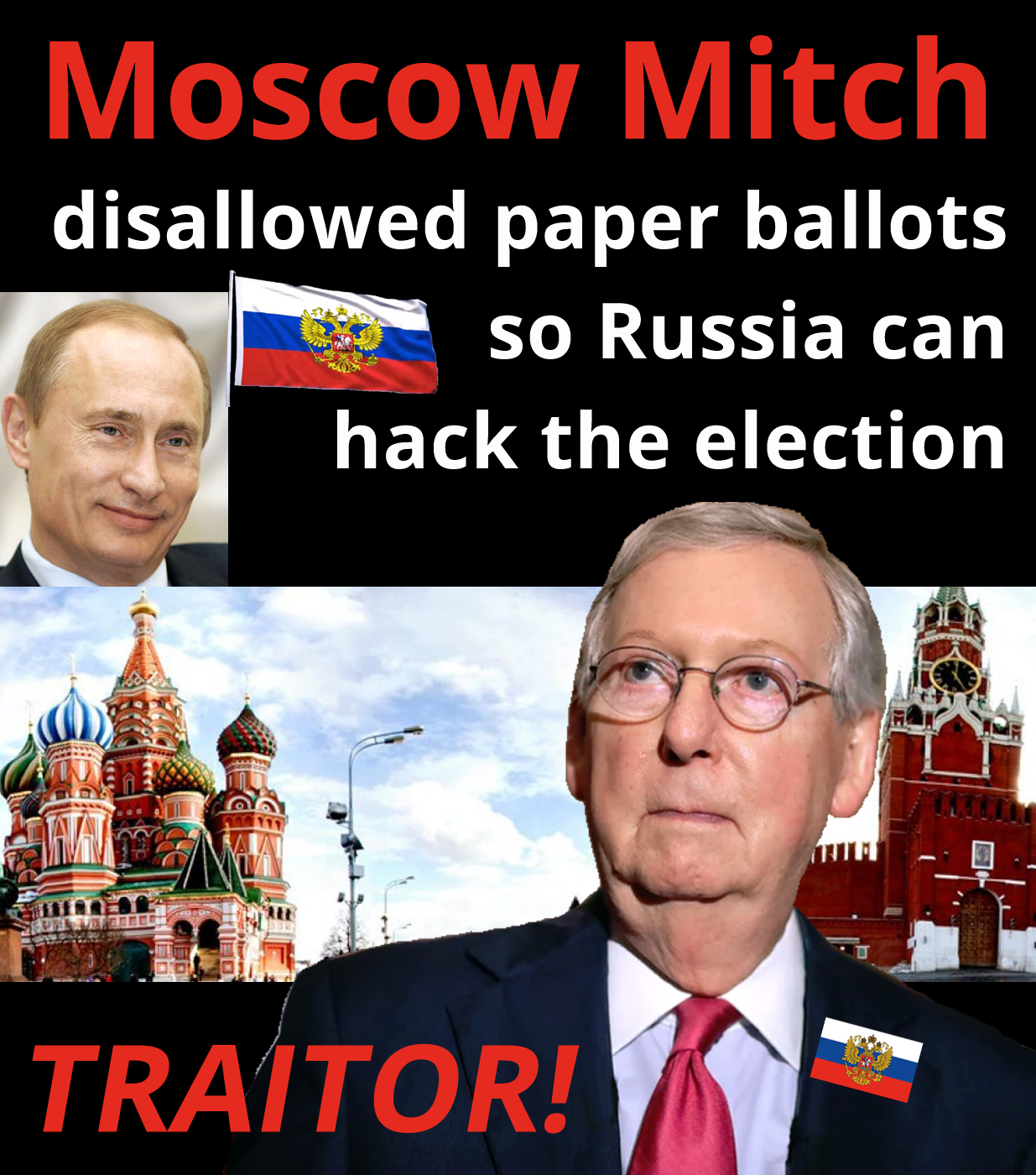 Moscow mitch mcConnell voting elections